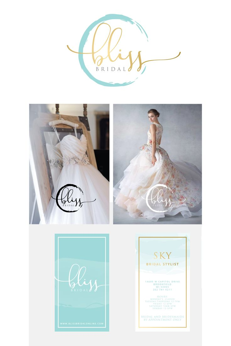 Designs | Create a brand for high-end designer bridal boutique in the Midwest! | Logo & business card contest