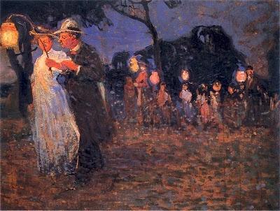 Witold Wojtkiewicz- Garden Party