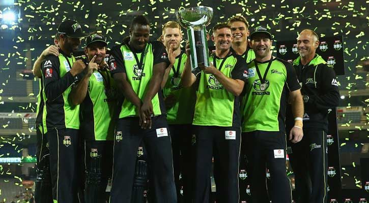 Big Bash's New Champion - Sydney Thunder - http://www.tsmplug.com/cricket/big-bashs-new-champion-sydney-thunder/