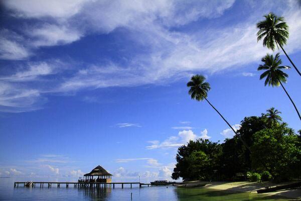 Ora Beach, Maluku, Indonesia