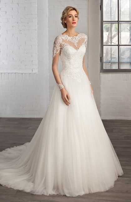 Robe de mariée Cosmobella 2016 Modèle 16COS-7776  robes  Pinterest ...