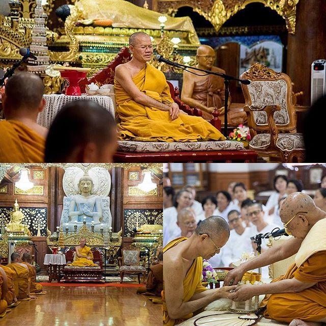 VENERABLE AJAHN SUPHAN (PHRA KHRU BHAVANA VIRACH)  Abad del Monasterio Wat Rampoeng.  El Ven. Ajahn Suphan Arjinnasilo  es monje Buddhista de la Tradición Theravada, toma la ordenación completa como Bhikkhu en 1982. Desde 1996 es Abad del Monasterio Wat Ram Poeng (Tapotaram)  en la ciudad de Chiang Mai al norte de Tailandia. Es considerado un experto en el Abhidhamma Pitaka , la tercera parte del Tri Canon Pali, que son las escrituras sagradas del Buddhismo Theravada. Maestría con honores…