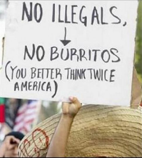 This image is intended to illustrate generalized misconceptions of Mexican-Americans in America as a group as sometimes perceived by other groups. There are obviously exceptions to everything, but these points are obvious for the ethnically impaired.