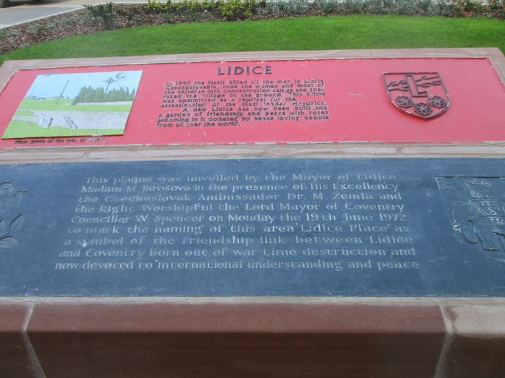 photograph of plaques in their new position
