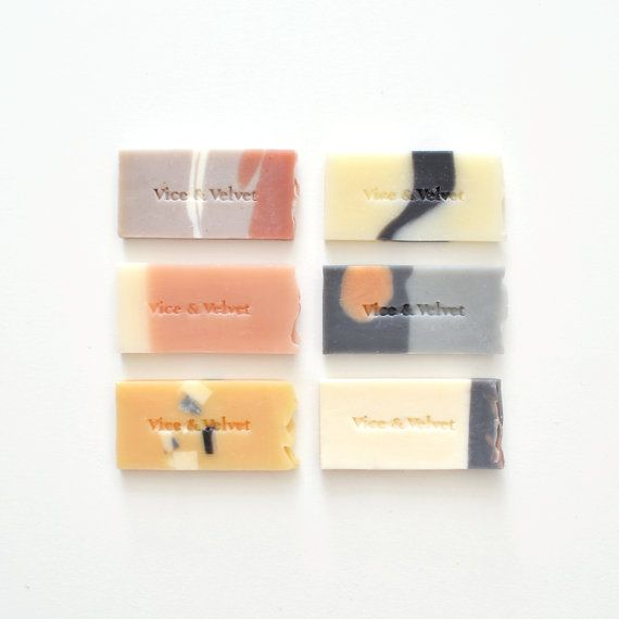 "Bypass that bland hotel-room soap in favor of travel-sized slivers of more evocative scents (""Blushing Phoenix,"" anyone?). #etsy"