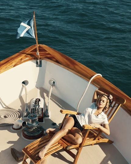 .I spend a lot of time writing on boats – mid morning coffee break sometimes com…