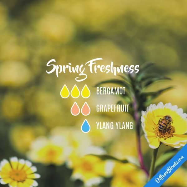 Spring Freshness - Essential Oil Diffuser Blend