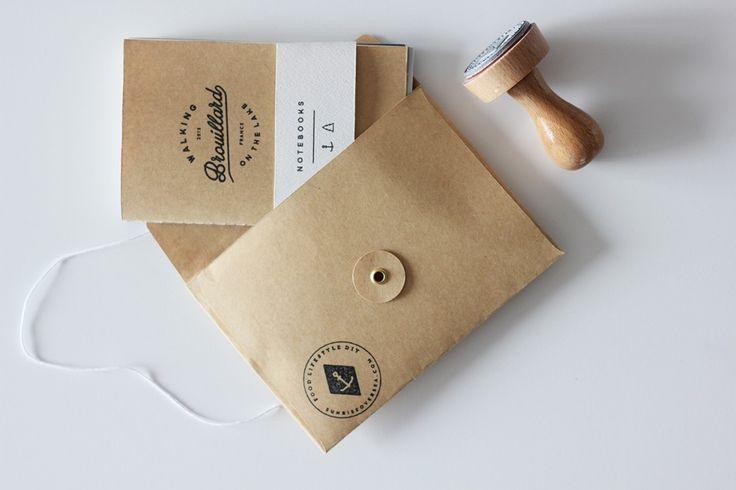 DIY : your own customised notebooks via Sunrise Over Sea blog