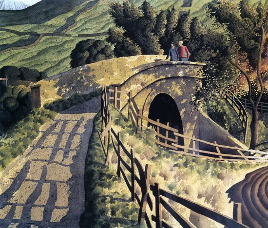 The Signalman and the Guard  by Simon Palmer