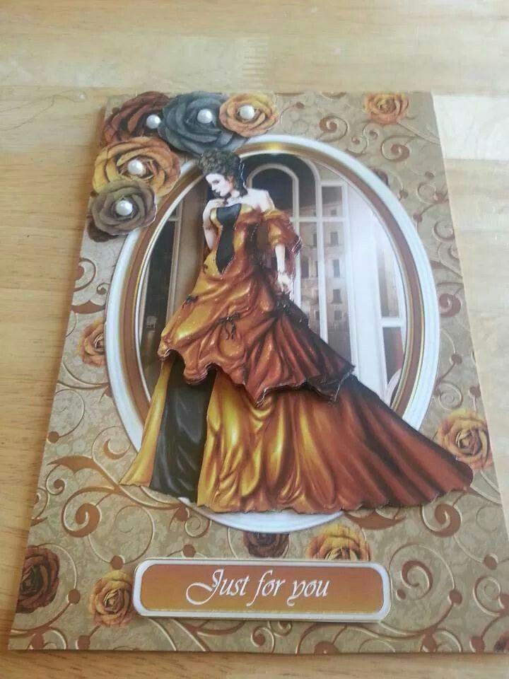 Elegant card. Debbie moore design