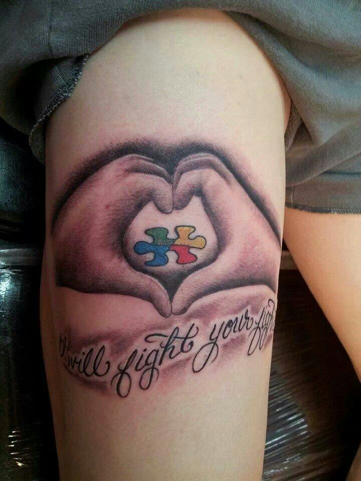 203 Best Tattoos Images On Pinterest Tattoo Ideas Autism Tattoos