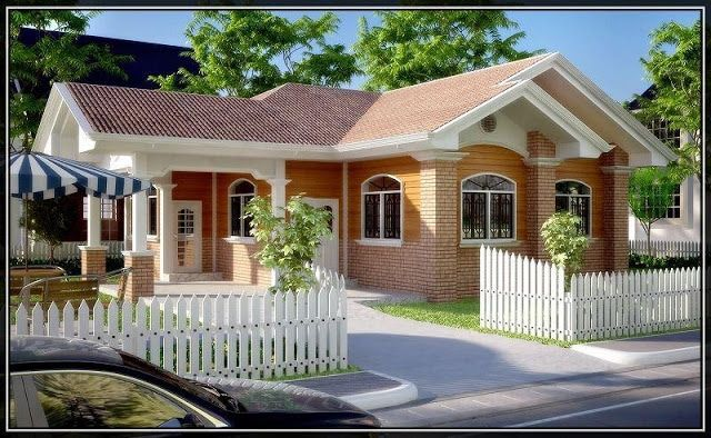 50 Beautiful Bungalow House Design Ideas Philippines House Design Small House Design Simple Bungalow House Design
