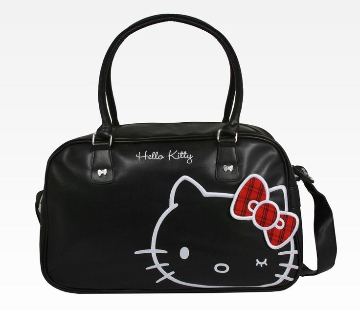 Hello Kitty Overnight Bag: Tartan