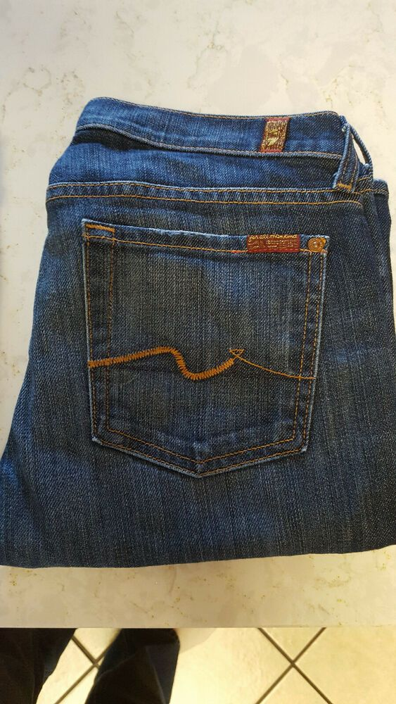 7 For All Mankind Size 27 Bootcut Womens Jeans Great Condition