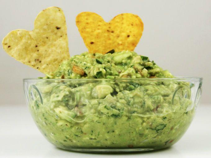 Receta saludable: guacamole proteínico