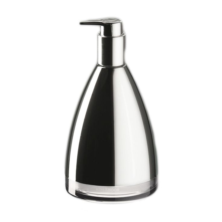 Stylish Modern High End Soap Dispenser Made Of Quality Abs And Finished In Chrome
