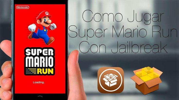 Como jugar Super Mario Run con Jailbreak
