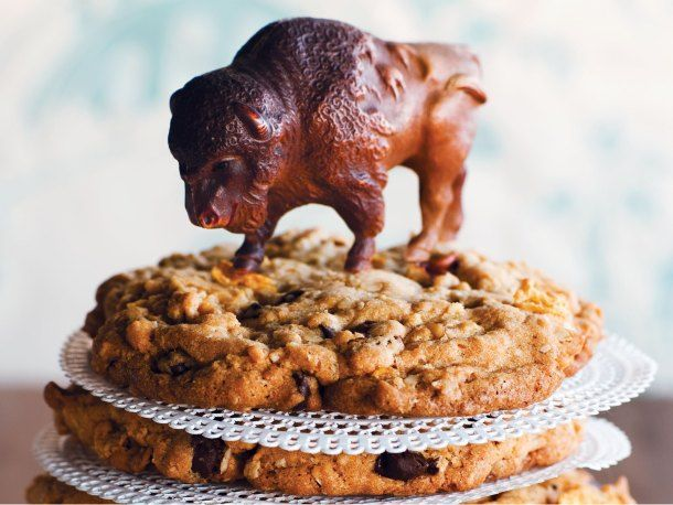 Buffalo Chip Cookies-My Grandma used to make these all the time and even when people would move away, they'd still ask her to send them in the mail, they're that good! :D