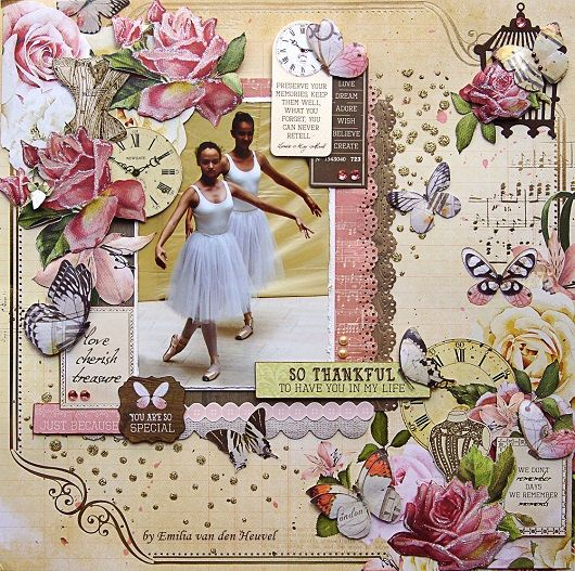 "<p>Hello+everybody!+Emmy+here+today+sharing+my+latest+layout featuring+the+lovely Kaisercraft's+Mademoiselle paper+line+(available+at+Merly+Impressions'+online+store).+This+time+I+decided+to+use+more+yellow-pink-brown+palette+matching+the+colours+of+my+picture.+I+took+this+picture+at+Elise's+last+classic+ballet+performance+and+when+I+saw+the Mademoiselle collection,+I+<a+href=""+http://www.merlyimpressions.co.uk/blog/project-portfolio/scrapbooking/just-because-with-mademoise..."