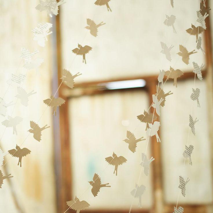 Bird Paper Bunting