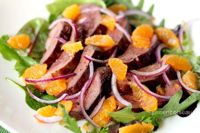 salade de magret la cl mentine piment oiseau pinterest salad. Black Bedroom Furniture Sets. Home Design Ideas
