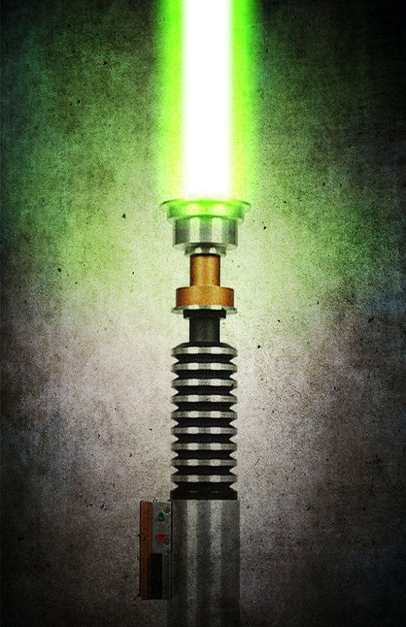Luke Skywalker's Lightsaber... From the Movie Return of the Jedi