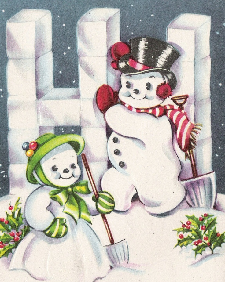 Old Centennial Farmhouse: For the New Year! Snowmen that will Melt Your Heart!