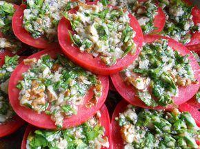 Закуска из помидоров по-тбилисски — ❀ Мой сад заготовки