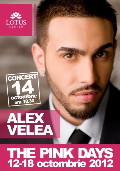 Alex Velea Concert  October 14th