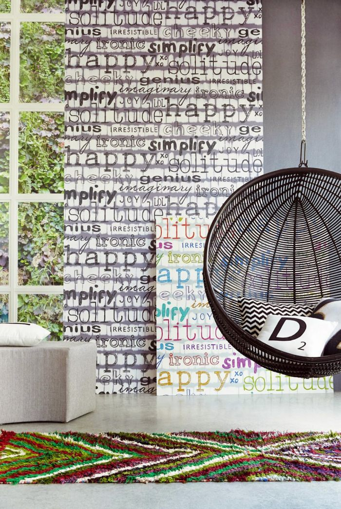 10 ideas para papel de pared decorativo