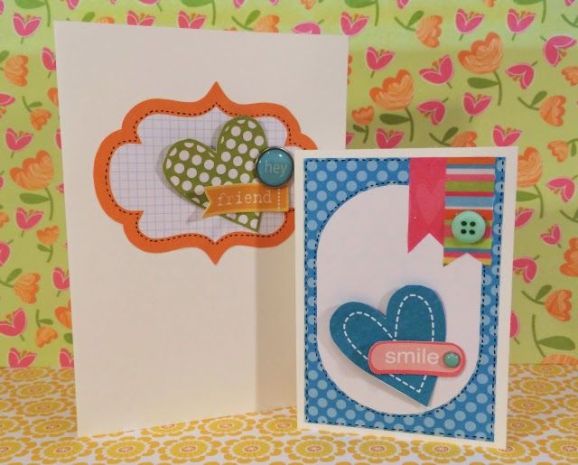Follow these step by step instructions to make these quick and easy cards for friends and family using the Meadow Sweet collection from Craft Asylum!