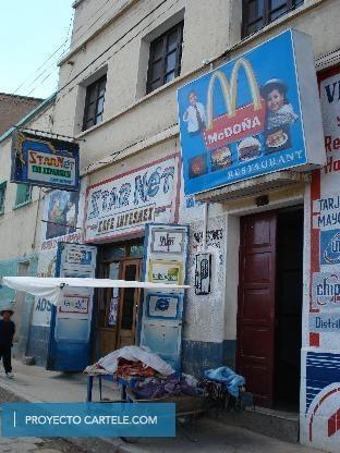 Mac Doña. Proyecto cartele (La Paz, Bolivia)