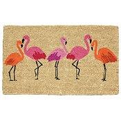 Flamingo Bay Summer Doormats $25.99