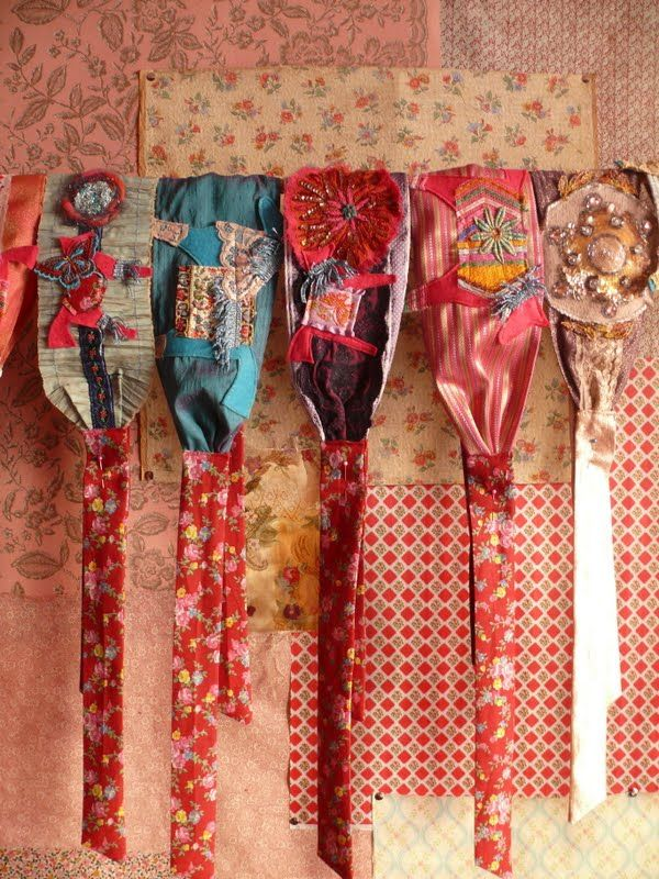 bohemian headbands-what a great idea!! you could go crazy with these xx