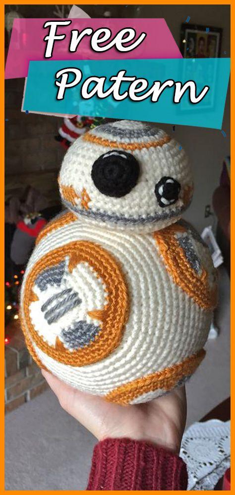 Bb 8 From Star Wars Crochet Pattern Written Crochet Free Patterns
