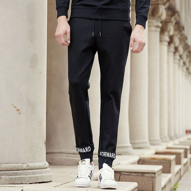 Pioneer Camp autumn spring pants men brand clothing male black trousers casual fashion sweatpants top quality joggers men
