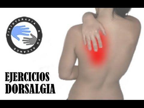 Dorsalgia o dolor de espalda, como aliviar el dolor / Fisioterapia a tu alcance - YouTube