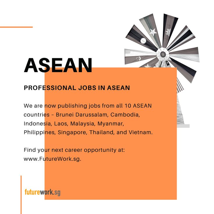 For professional jobs in asean tomorrow today https