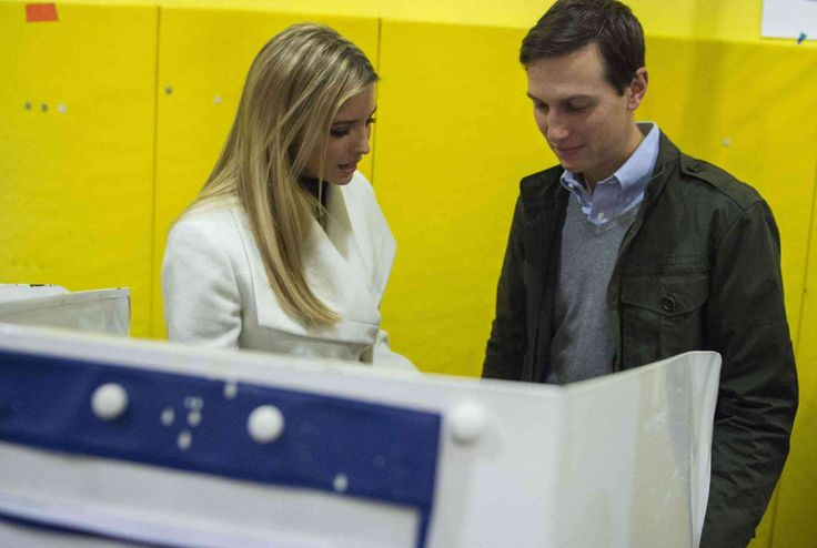 A look at Jared Kushner, Trump's son-in-law and senior adviser  -   Ivanka Trump and Kushner vote at a polling station on Nov. 8, 2016, in New York.