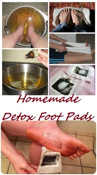 Homemade Foot Detox Pads