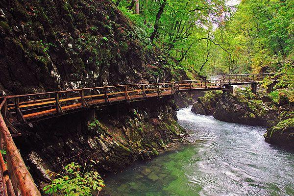 A Triglav Nemzeti Park az egyetlen Nemzeti Park Szlovéniában. Szlovénia legmagasabb csúcsa, a Triglav (2.864 m) után kapta nevét, mely a park közepén található. A karsztos hegyvidék, a festői hegycsúcsok, zöld erdők, legelők, kristálytiszta hegyi patakok, szakadékok, szorosok (Vintgar, Mlinarica, Mostnica), minden adott szabadidőnk aktív eltöltésére.