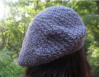 1000 Ideas About Crochet Beret Pattern On Pinterest