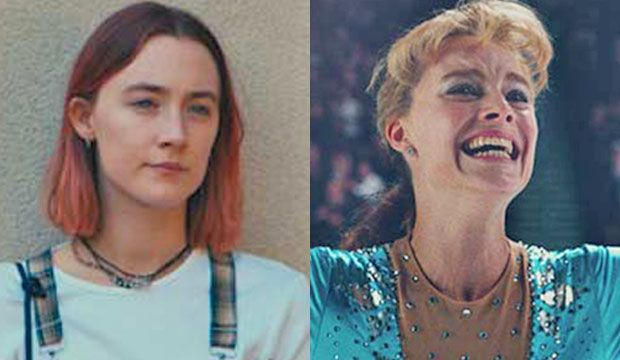 """Saoirse Ronan (""""Lady Bird"""") has pulled ahead of Margot Robbie (""""I, Tonya"""") in the race for Best Film Comedy/Musical Actress at the Golden Globes on Sunday according to all f…"""