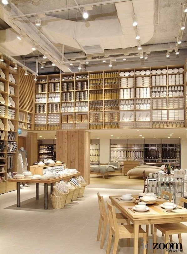 49 best muji images on pinterest muji store muji and for Retail interior design firms