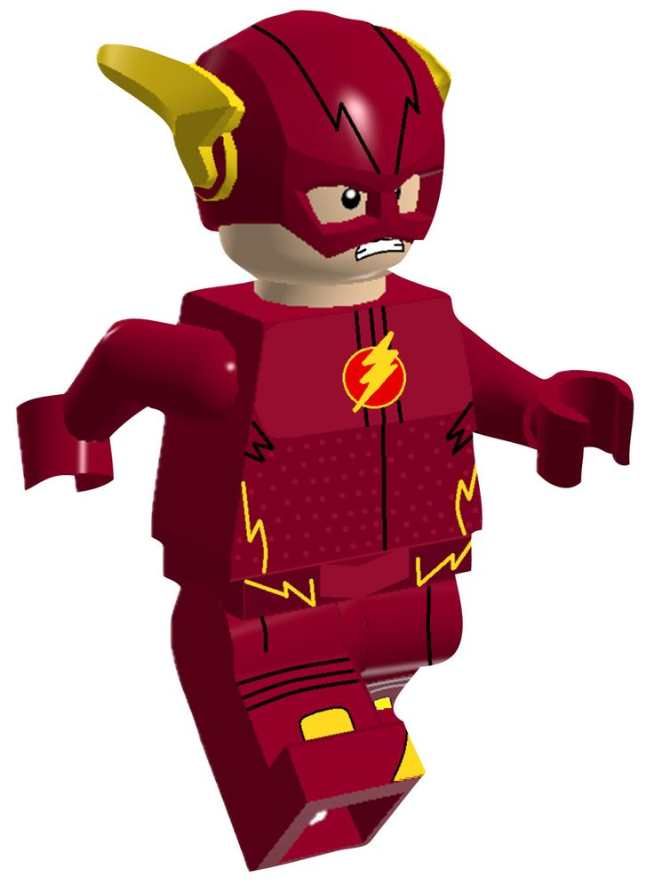 Wholesale Printers,   The Flash Lego Character Wall Stickers   Totally  Movable , $2.00 (