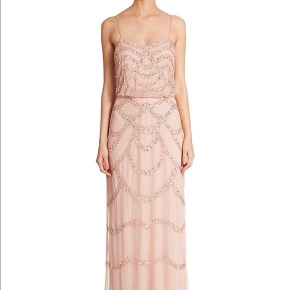 Aidan Mattox Dresses - Aidan Mattox blouson blush dress - worn 1x