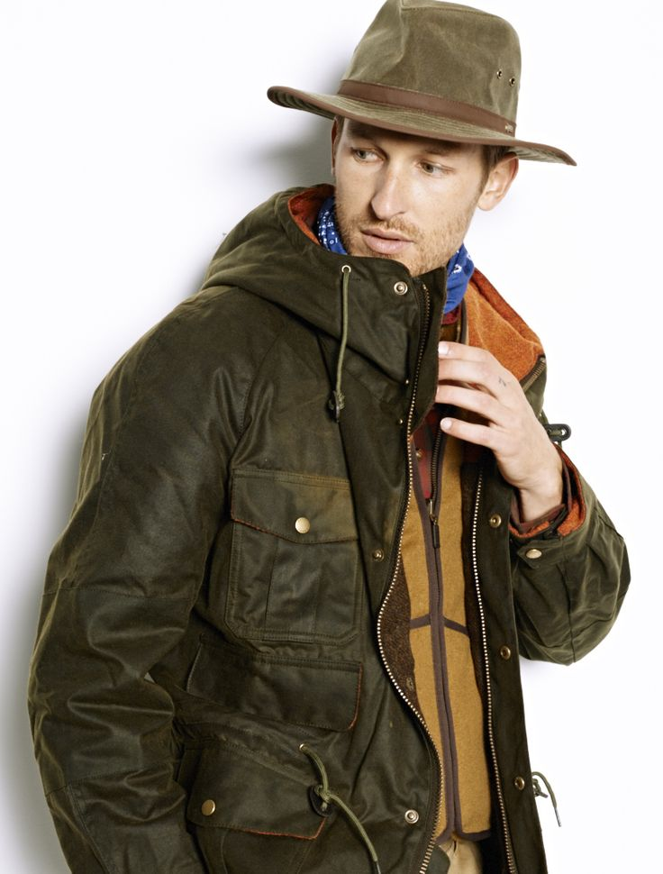 Stetson Buffalo Hat, Barbour® Wessex Jacket, Barbour® Warm-Pile Zip-In Liner