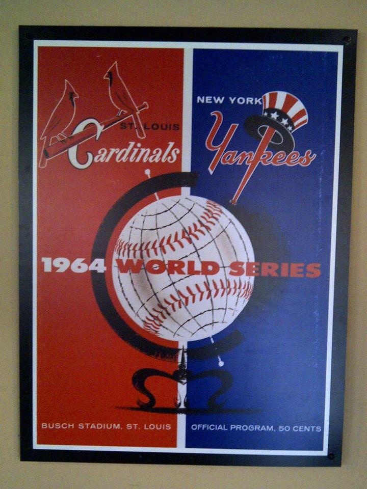 St Louis Cardinals vintage poster