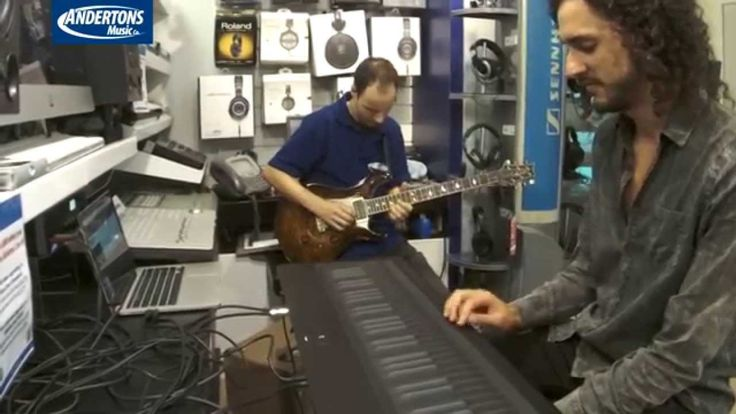 Marco Parisi Proves That a ROLI Seaboard Grand Keyboard Can Sound Just Like an Electric Guitar