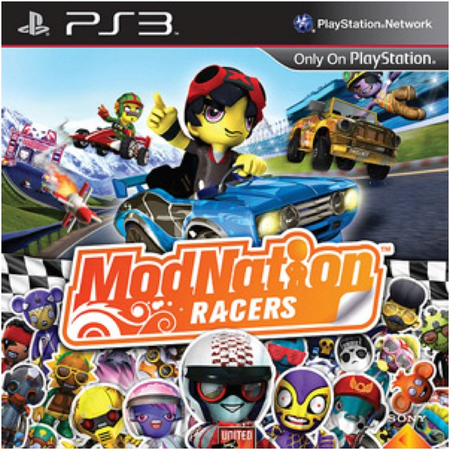 modnation racers is a great kart racing game exclusive to ps3 drivers karts and tracks are. Black Bedroom Furniture Sets. Home Design Ideas
